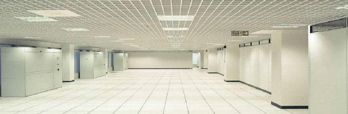 Empty Room in Data Centre-1